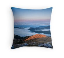 Lake clouds Throw Pillow