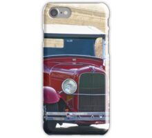 1929 Ford 'Old Town' Roadster iPhone Case/Skin