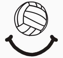 Volleyball Smile Baby Tee