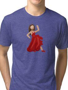 Dancer Emoji Tri-blend T-Shirt