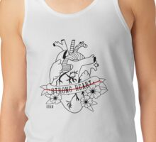 Strong hearth by Shan Tank Top