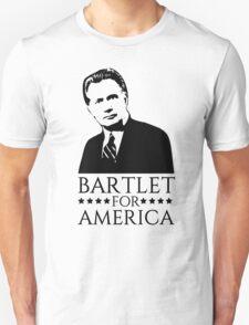 Bartlet for America West Wing Design Unisex T-Shirt