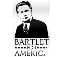 Bartlet for America West Wing Design Poster