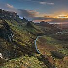 Sunrise over the Quiraing, Isle of Skye by Martin Lawrence