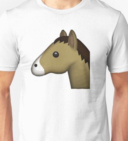 Horse Face Emoji Unisex T-Shirt