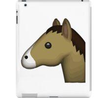 Horse Face Emoji iPad Case/Skin