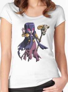 witch Women's Fitted Scoop T-Shirt