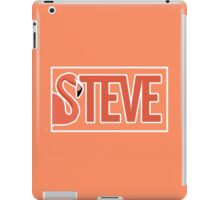 Steve white iPad Case/Skin