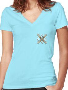 GORO Women's Fitted V-Neck T-Shirt
