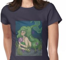 Green Mermaid Womens Fitted T-Shirt