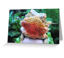 Psychedelic Lizard Greeting Card