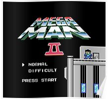 Megaman 2 - He's up on the effin' roof Poster
