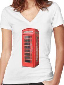 Allo ! Women's Fitted V-Neck T-Shirt