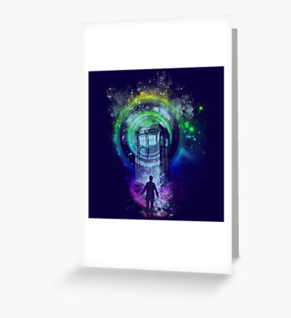 Master of ceremony Greeting Card