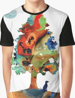 Dog Art - Contemplation 2 - By Sharon Cummings  Graphic T-Shirt
