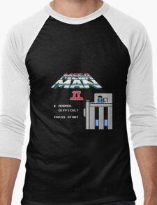 Megaman 2 - He's up on the effin' roof Men's Baseball ¾ T-Shirt