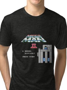 Megaman 2 - He's up on the effin' roof Tri-blend T-Shirt