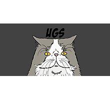Ugs Cartoon Grey Photographic Print