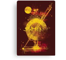 shiny Canvas Print