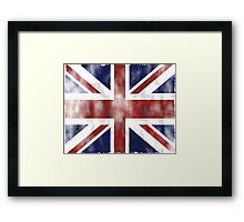 United Kingdom British flag Framed Print