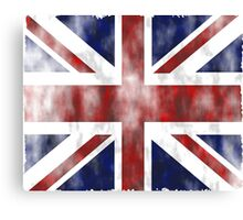 United Kingdom British flag Canvas Print