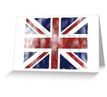 United Kingdom British flag Greeting Card