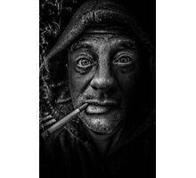 into the dark Photographic Print