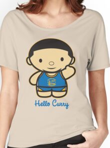 HELLO CURRY Women's Relaxed Fit T-Shirt