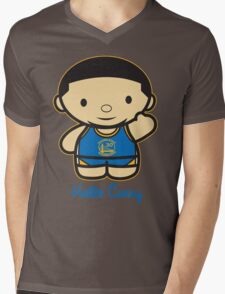 HELLO CURRY Mens V-Neck T-Shirt