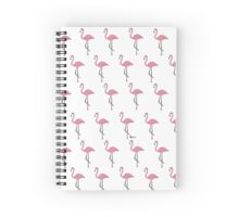 Flamencos by Shan Spiral Notebook