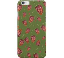 Trinidad Scorpion Chilli Peppers Green iPhone Case/Skin