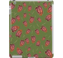 Trinidad Scorpion Chilli Peppers Green iPad Case/Skin