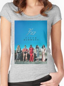 7/27 - FIFTH HARMONY Women's Fitted Scoop T-Shirt