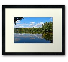 THE PEACE OF WILD THINGS Framed Print