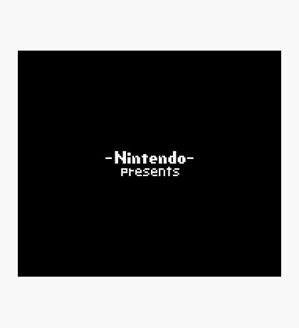 Nintendo Presents Photographic Print