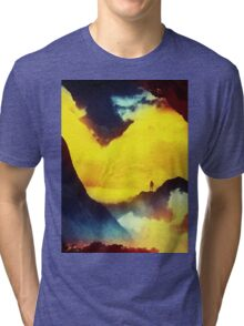This volcano is mine Tri-blend T-Shirt