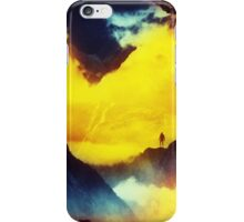 This volcano is mine iPhone Case/Skin