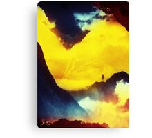 This volcano is mine Canvas Print