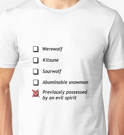 Teen Wolf - What Are You? Unisex T-Shirt