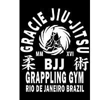 Gracie Jiu Jitsu Photographic Print