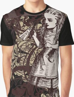 Alice In Wonderland Carnivale Style Graphic T-Shirt