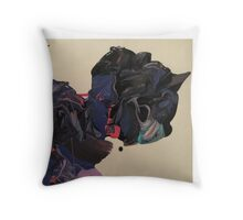 Unihorned cute thing Throw Pillow