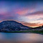 Sunrise at Amadorio reservoir - panorama by Ralph Goldsmith