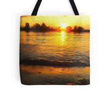 Sunset Glamour Tote Bag