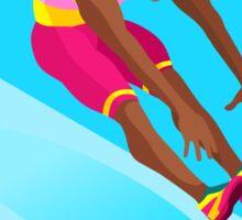 Athletics Jump 2016 Summer Games  Sticker