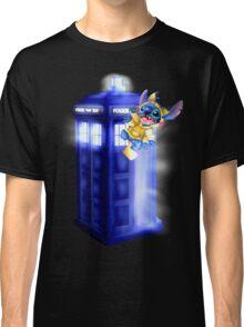 Doctor Stitch + Pikacchu  Classic T-Shirt