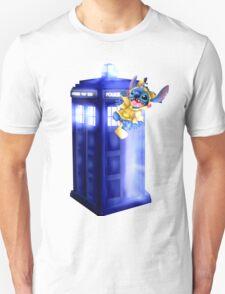 Doctor Stitch + Pikacchu  Unisex T-Shirt