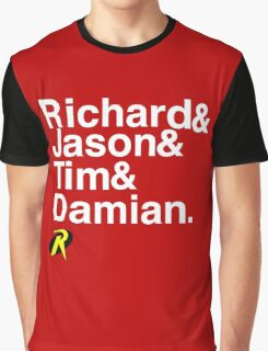 Richard & Jason & Tim & Damian. Robin T-shirt and more  Graphic T-Shirt