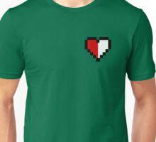 Half of Heart Unisex T-Shirt