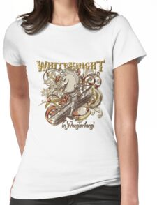 White Knight Carnivale Style - Gold Version Womens Fitted T-Shirt